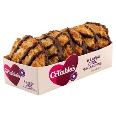 Mrs Crimble's 6 Large Chocolate Macaroons 250g
