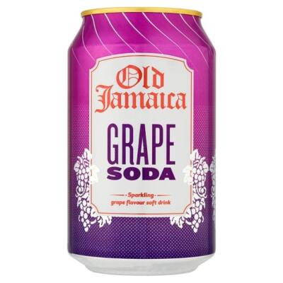 Old Jamaica Grape Soda 330ml