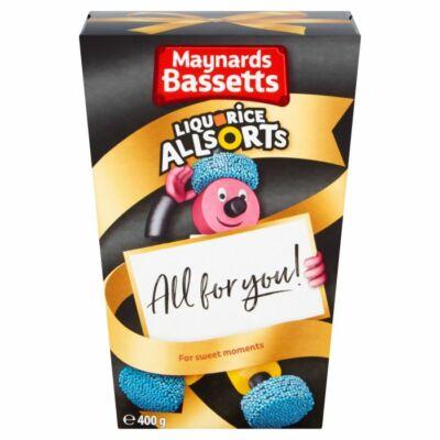 Maynards Bassetts Liquorice Allsorts Carton 400g