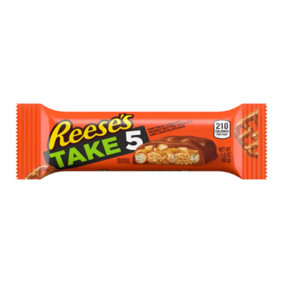 REESE'S TAKE5 Chocolate Peanut Butter Candy Bar [USA] 42g