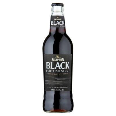 Belhaven Black Scottish Stout (500ml, 4.2%)
