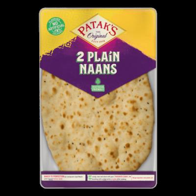 Patak's Naan Indiai Kenyér (2db) 280g