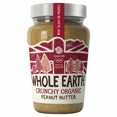 Whole Earth Organic Crunchy Peanut Butter 340G