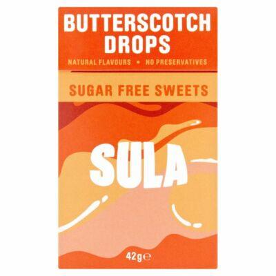 Sula Butterscotch 42g - Cukormentes vajkaramellás cukorka