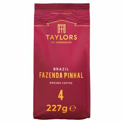 Taylors Brazil Fazenda Pinhal Ground Coffee (őrölt kávé) 227g