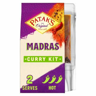 Patak's South Indian Madras 3 Step Curry Kit 313g