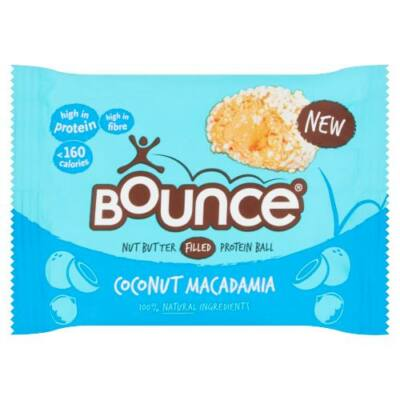 Bounce Coconut and Macadamia Filled Protein Ball 35g