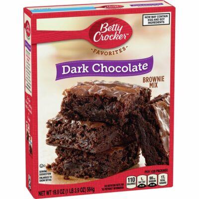 Betty Crocker Brownie Mix Dark Chocolate [USA] 564g