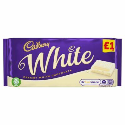 Cadbury White Chocolate Bar 90g