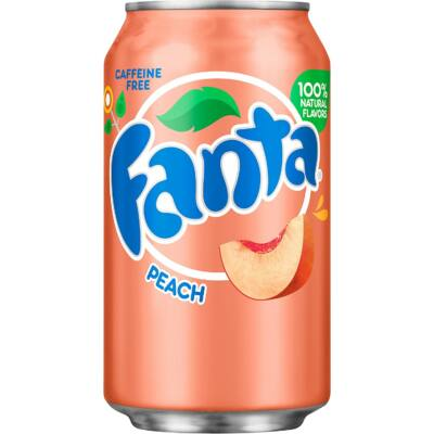 Fanta Peach [USA] 355ml