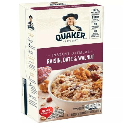 Quaker Instant Oatmeal Raisin, Date & Walnut [USA] 370g
