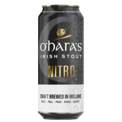O'Hara's - Irish Stout Nitro (4.3% 440ml, dobozos)