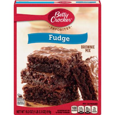 Betty Crocker Fudge Brownie Mix [USA] 519g