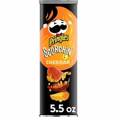 Pringles Scorchin' Cheddar [USA] 158g