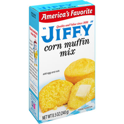 Jiffy Corn Muffin Mix [USA]  240g