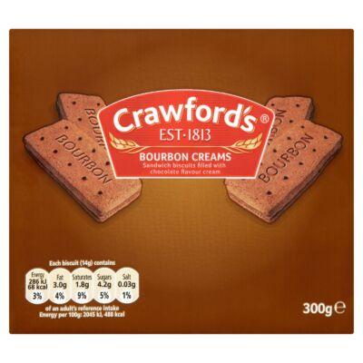 Crawfords  Bourbon Creams 300g