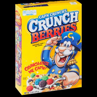 Cap'n Crunch Crunch Berries  370g