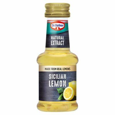 Dr.Oetker Sicilian Lemon Natural Extract 35Ml