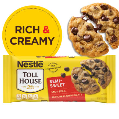 Nestle Toll House Semi Sweet Chocolate Chips [USA] 340g