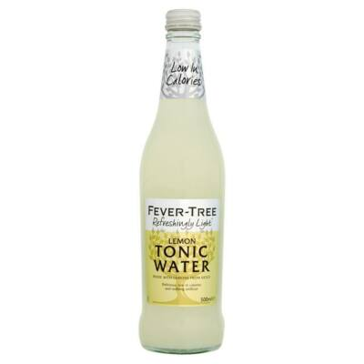 Fever-Tree Refreshingly Light Lemon Tonic Water 500ml