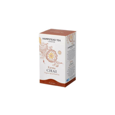 Hampstead Tea Organic Karma Chai Tea bags (Fűszeres chai tea) 20 db filter