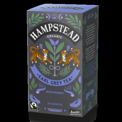 Hampstead Earl Grey Organic & Fairtrade Tea (Bio és Fairtrade Earl Grey Tea) 20 db filter