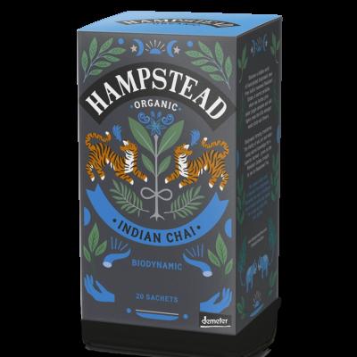Hampstead Tea Organic Indian Chai Tea Bags  (Bio Fekete Chai Tea) 20 db filter