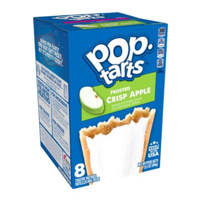 Kellogg's Pop Tarts - Frosted Crisp Apple [USA] 384g