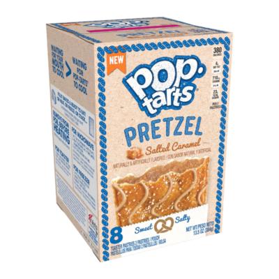 Kellogg's Pop-Tarts Pretzel Salted Caramel [USA] 384g