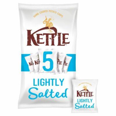 Kettle Chips - Lightly Salted enyhén sós Multipack 5x30g