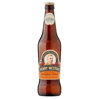 Henry Westons Organic Cider (500ml, 6%)