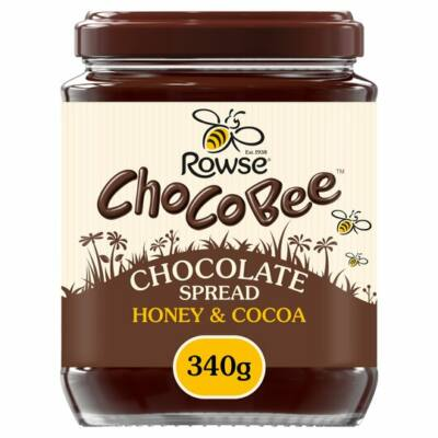 Rowse Choco Bee Chocolate Spread With Honey 340G
