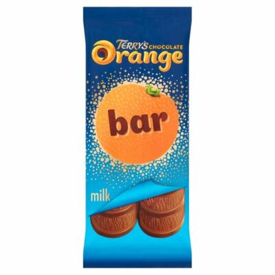Terrys Chocolate Tablet - narancsos tejcsokoládé szelet 90g