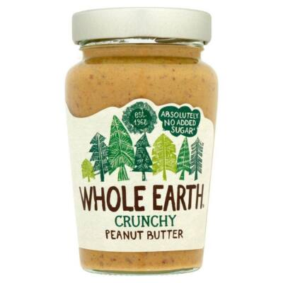Whole Earth Original Crunchy Peanut Butter 340g