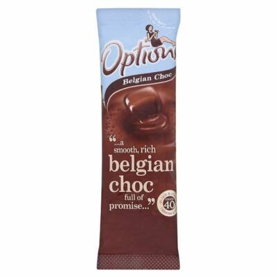 Options Belgian Chocolate (Instant belgacsokoládés italpor) 11g