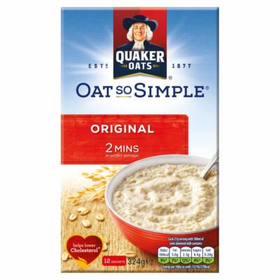 Quaker Oat So Simple Original (12 instant tasak)