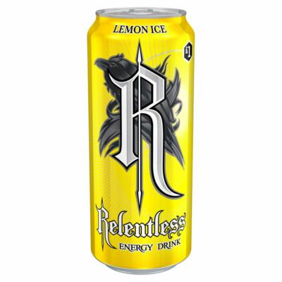 Relentless Lemon Ice  £1PM 500ml
