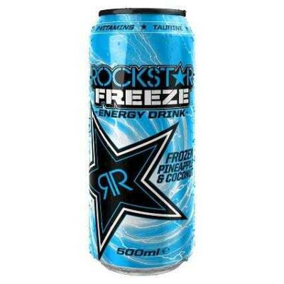 Rockstar Freeze Frozen Pineapple & Coconut 99p 500ml