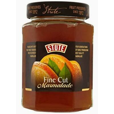 Stute Fine Cut Orange Extra Marmalade 340g