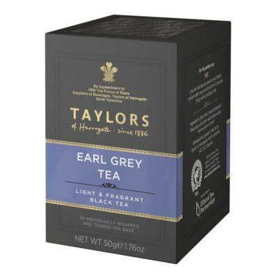Taylors of Harrogate Earl Grey Tea - 20 db borítékolt filter