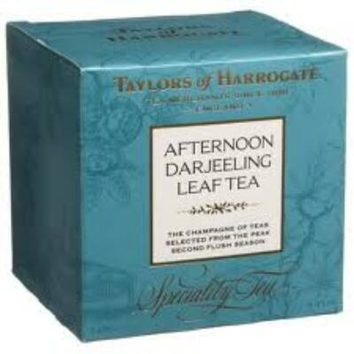 Taylor's Of Harrogate Afternoon Darjeeling Leaf Carton Tea (Szálas Délutáni Darjeeling Tea) 125g