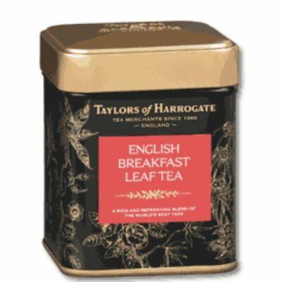 Taylor's Of Harrogate English Breakfast Leaf Caddy Tea (Fémdobozos Szálas angol Reggeli Tea) 125g