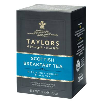 Taylors of Harrogate Scottish Breakfast Tea Bags - 20db borítékolt filter
