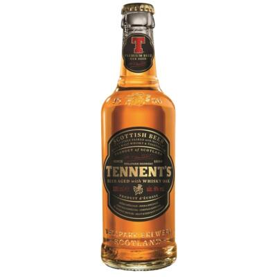 Tennent's Beer Aged With Whisky Oak (6%, 330ml)