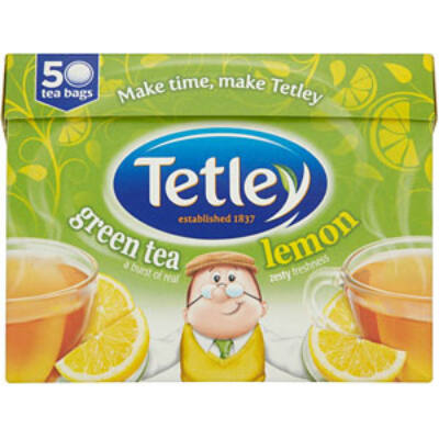 Tetley Green Lemon Tea 50 db filter