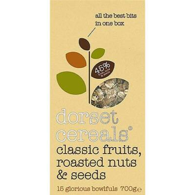 Dorset Cereals Classic Fruits, Roasted Nuts & Seeds 700g