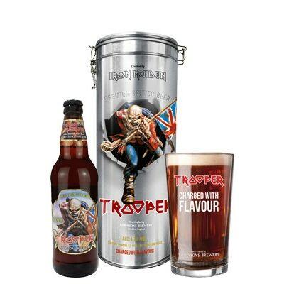 Iron Maiden Trooper Fémdobozos Ajándékszett