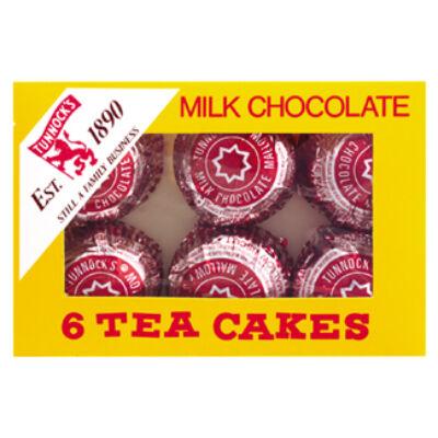Tunnocks Chocolate Tea Cakes -  6 db 1 csomagban