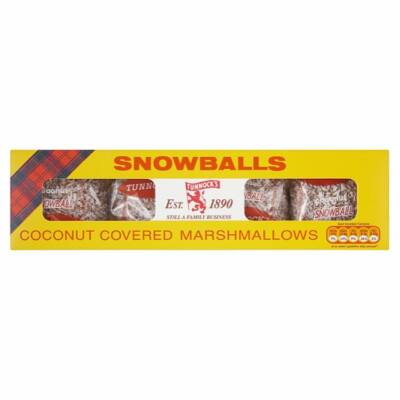Tunnocks Snowballs 4db 1 csomagban