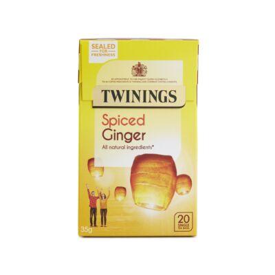 Twinings Spiced Ginger Tea (Fűszeres gyömbér) 20 db filter